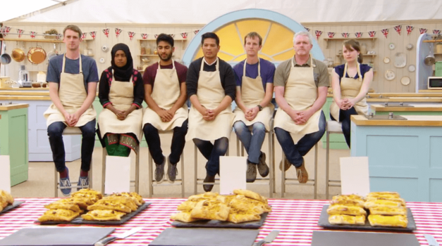 great british baking show flaouna