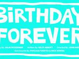 Birthday Forever