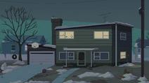 Reggie's House - External night