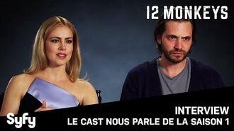 12 MONKEYS sur SYFY - Le Cast revient sur la saison 1