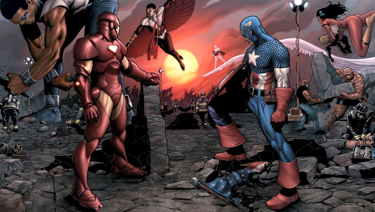 Stamford Incident Marvel Civil War