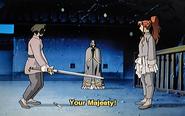 Yuka surprised by King Kou