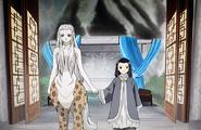 Taiki Sanshi holding hands