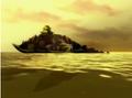 Genbu swimming through the unkai.png