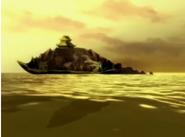 Genbu swimming through the unkai