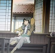 Asano agitated