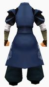 Guanyin-blue cloud robe-male-back