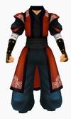 Guanyin-red cloud robe-male