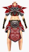Guanyin-war god armor-female