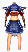 Guanyin-godsend hero armor-female-back
