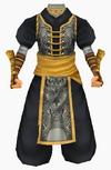 Guanyin-black lotus robe-male