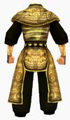 Guanyin-gold dragon robe-male-back