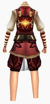 Guanyin-wisdom robe-female-back