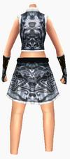 Guanyin-seven star robe-female-back