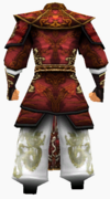 Guanyin-holy armor-male-back