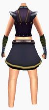 Guanyin-justice robe-female-back