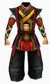 Guanyin-dark cloud robe robe-male