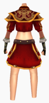 Guanyin-dragon sky armor-female-back