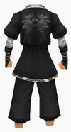 Guanyin-dark breeze robe-male-back