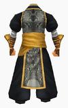 Guanyin-black lotus robe-male-back