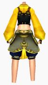Guanyin-dragon sorrow armor-female-back