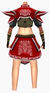 Guanyin-war god armor-female-back