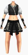 Guanyin-dark breeze robe-female