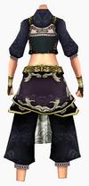Guanyin-pure robe-female-back
