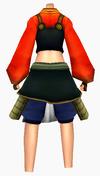 Guanyin-earth dragon armor-female-back