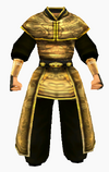 Guanyin-gold dragon robe-male