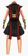 Guanyin-dark cloud robe robe-female-back