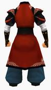Guanyin-red cloud robe-male-back