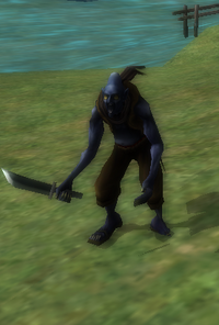 Blue kobold