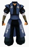 Guanyin-blue cloud robe-male