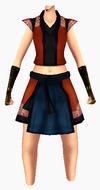 Guanyin-red cloud robe-female