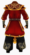 Guanyin-dragon sky armor-male-back