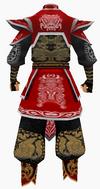 Guanyin-war god armor-male-back