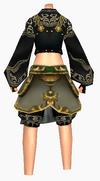 Guanyin-practical armor-female-back