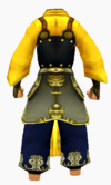 Guanyin-dragon sorrow armor-male-back