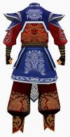 Guanyin-godsend hero armor-male-back