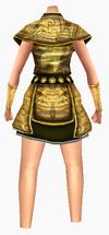 Guanyin-gold dragon robe-female-back