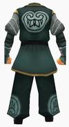 Guanyin-horse robe-male-back