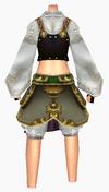 Guanyin-snowy white armor-female-back
