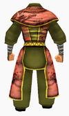 Guanyin-apricot robe-male-back