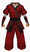 Guanyin-red silk robe-male