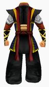 Guanyin-dark cloud robe robe-male-back