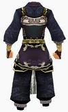 Guanyin-pure robe-male-back
