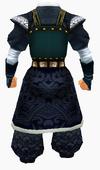 Guanyin-majestic robe-male-back