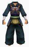 Guanyin-blue moon battle robe-male