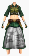 Guanyin-bamboo forest armor-female